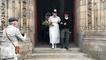 Fête de la Bretagne à Quimper avec la reconstitution d'un mariage et d'un marché