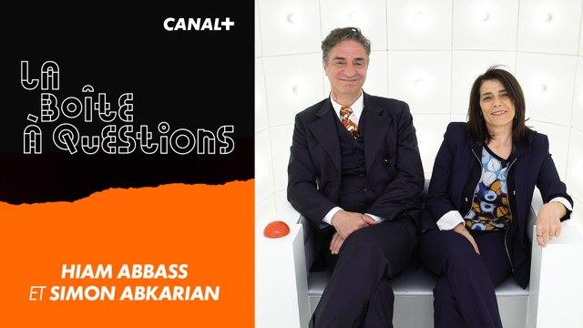 La Boîte à Questions de Hiam Abbass et Simon Abkarian – 17/05/2019