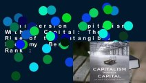 Full version  Capitalism Without Capital: The Rise of the Intangible Economy  Best Sellers Rank :