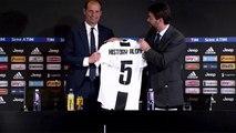 ALLEGRI si emoziona nella Conferenza Stampa d'ADDIO alla JUVENTUS - Presenti anche tutti i giocatori e il Presidente Agnelli - 18.05.2019
