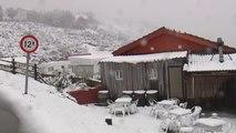 El frío vuelve de golpe a Asturias, Burgos y Valladolid
