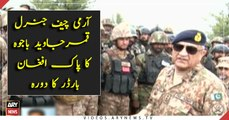 COAS visits troops on forward posts in North Waziristan
