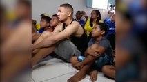 L'explosion de joie des Richarlison lors de l'annonce de la sélection brésilienne