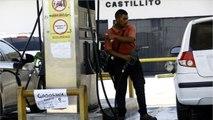 Venezuelans Wait In Line For Hours As Fuel Shortage Worsens