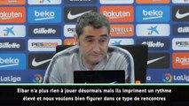 """38e j. - Valverde : """"Rester compétitif pour la Coupe du Roi"""""""