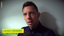 U17 : la réaction de Johann Sidaner après la victoire face à l'OL