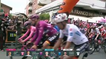 Caleb Ewan wins stage eight of Giro d'Italia as Valerio Conti retains leader's pink jersey