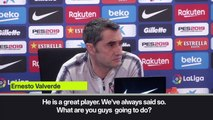 (Subtitled) Valverde on Griezmann ahead of last game in La Liga