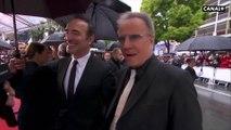 Jean Dujardin et Christophe Lambert, tous deux dans Un + Une de Claude Lelouch  - Cannes 2019