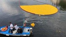 12 000 canards en plastique et un objet volant identifié à Laval !