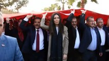 Samsun'da 1919 metrelik Türk bayrağı açıldı - SAMSUN