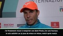 """Rome - Nadal : """"Une finale et un tournoi importants"""""""