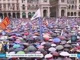 Européennes : les souverainistes réunis à Milan autour de Matteo Salvini et Marine Le Pen