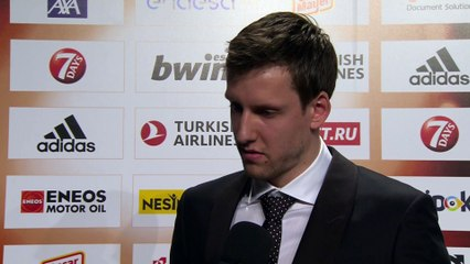 Season MVP Jan Vesely Interview