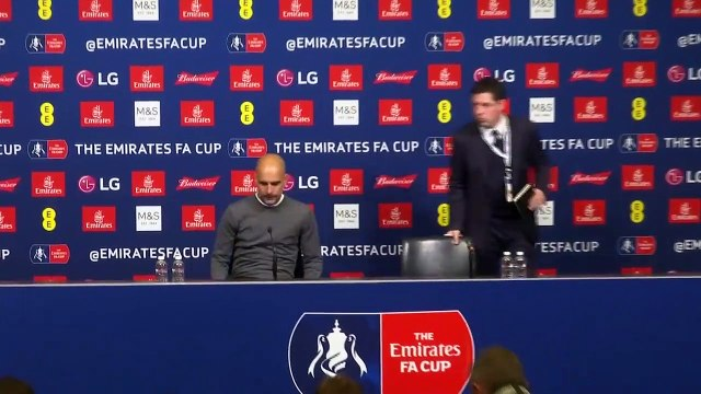 Reaction from Pep Guardiola and Javi Gracia after Manchester City beat Watford 6-0 in FA Cup final