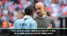 Sterling didn't play well in the first half - Guardiola