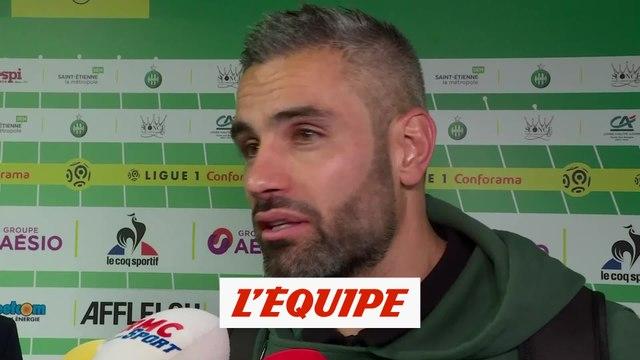 Perrin «On s'est racheté ce soir» - Foot - L1 - Saint-Etienne