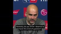 Do you know what you're asking me?! - Guardiola reacts angrily to alleged payments