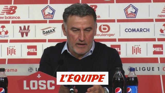 Galtier «Certains joueurs lillois doivent être dans l'équipe type de Ligue 1» - Foot - L1 - Losc