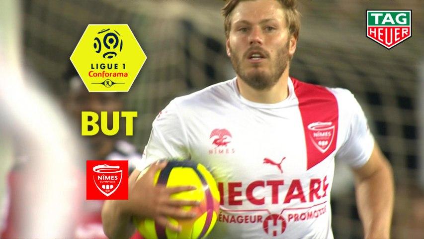But Renaud RIPART (53ème) / EA Guingamp - Nîmes Olympique - (2-2) - (EAG-NIMES) / 2018-19