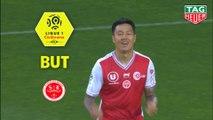 But Hyunjun SUK (2ème) / Girondins de Bordeaux - Stade de Reims - (0-1) - (GdB-REIMS) / 2018-19