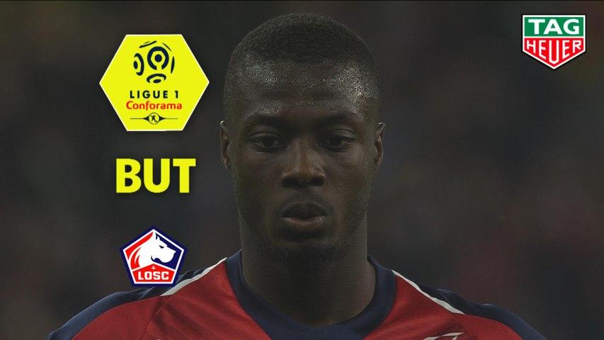 But Nicolas PEPE (77ème pen) / LOSC - Angers SCO - (5-0) - (LOSC-SCO) / 2018-19