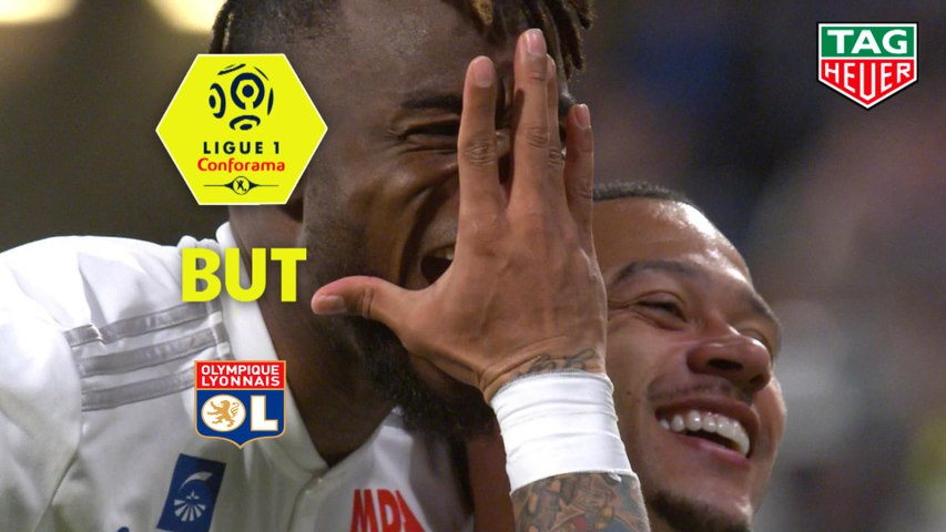 But Maxwel CORNET (54ème) / Olympique Lyonnais - SM Caen - (4-0) - (OL-SMC) / 2018-19