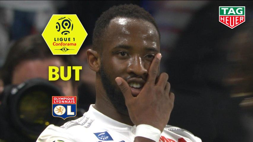 But Moussa DEMBELE (64ème) / Olympique Lyonnais - SM Caen - (4-0) - (OL-SMC) / 2018-19