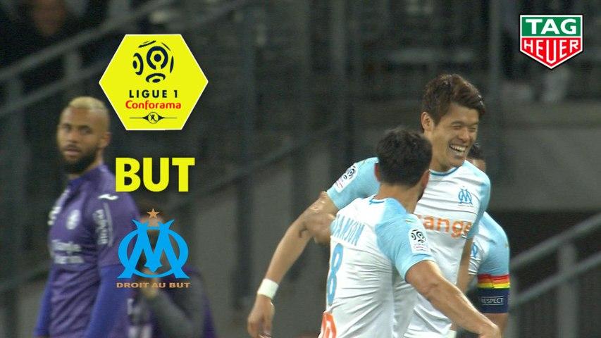 But Hiroki SAKAI (50ème) / Toulouse FC - Olympique de Marseille - (2-5) - (TFC-OM) / 2018-19