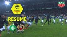 AS Saint-Etienne - OGC Nice (3-0)  - Résumé - (ASSE-OGCN) / 2018-19
