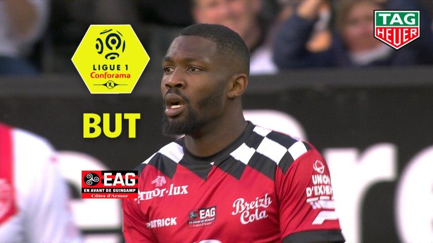 But Marcus THURAM (6ème) / EA Guingamp - Nîmes Olympique - (2-2) - (EAG-NIMES) / 2018-19