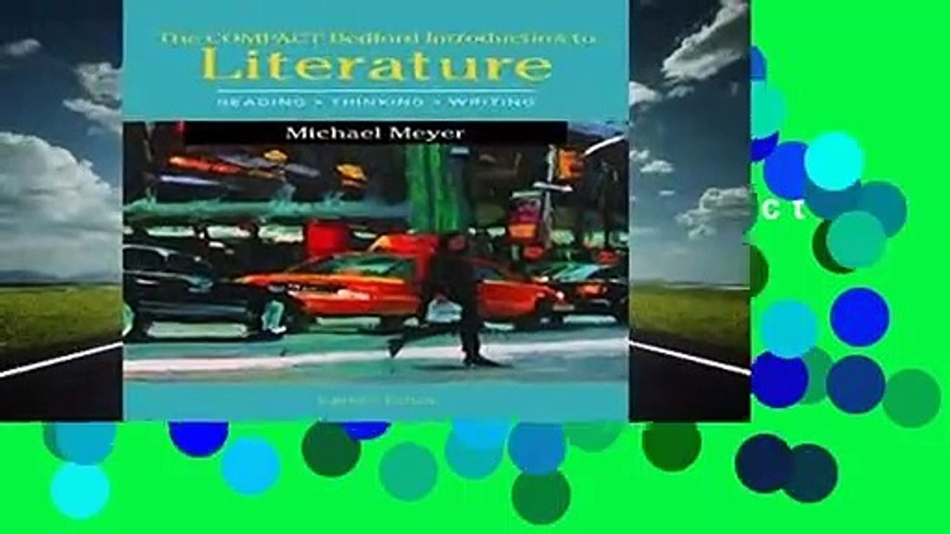 Full version  The Compact Bedford Introduction to Literature: Reading, Thinking, and Writing