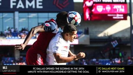 FC Dallas Tie 1-1 with Los Angeles FC