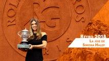 Roland-Garros 2018 - Rétro : La joie de Simona Halep