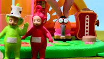 Teletubbies Feeding Swans   Teletubbies Toy Play Video   Play games with Teletubbies