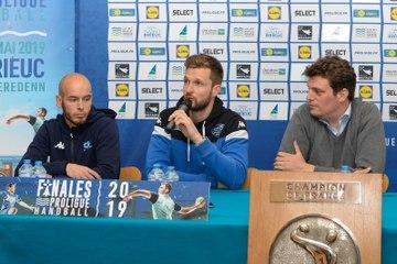 Présentation de la demi-finale de Proligue 2019 entre Créteil et Dijon