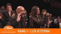 LUX AETERNA - Rang I - Cannes 2019 - VO