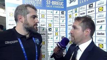 ITW Pierre Montorier (Créteil), demi-finale de Proligue 2019