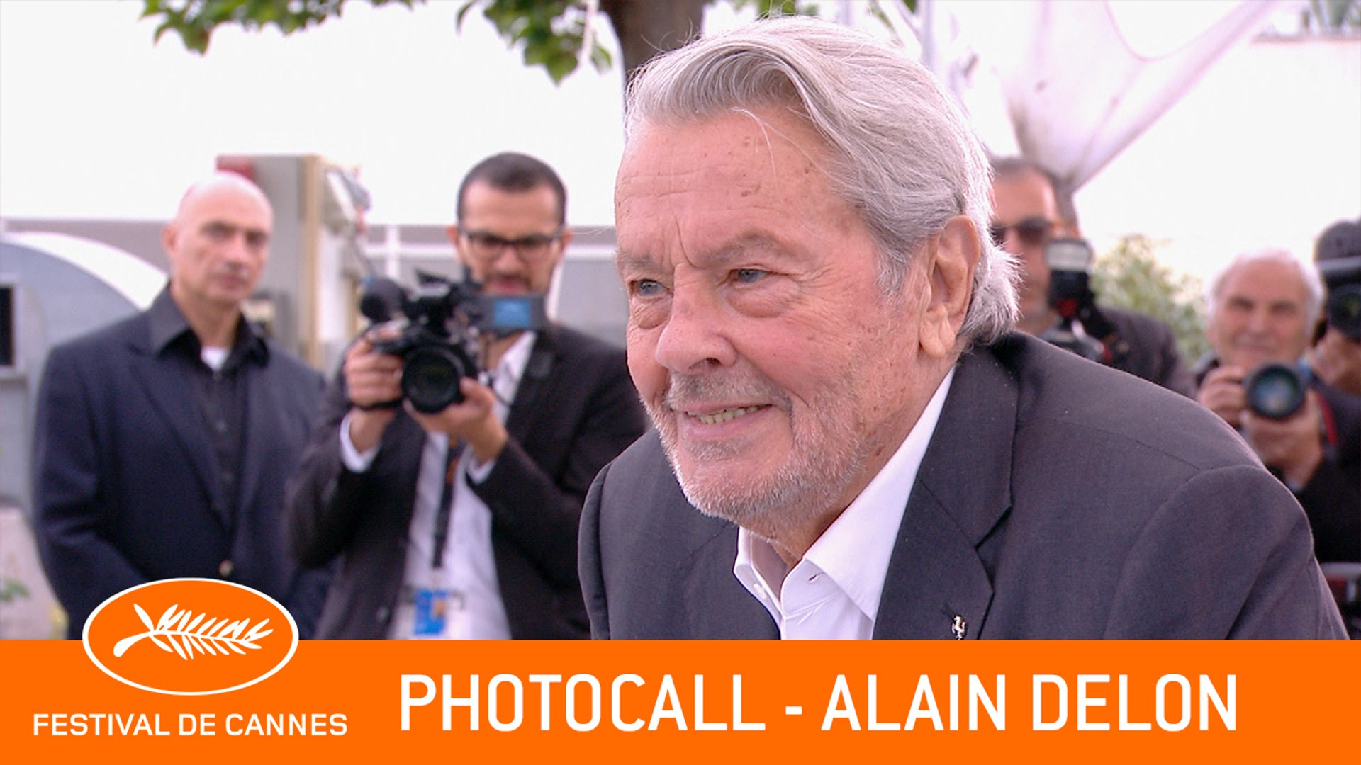ALAIN DELON - Photocall - Cannes 2019 - EV