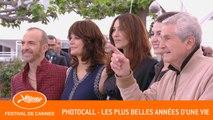 LES PLUS BELLES ANNEES D'UNE VIE - Photocall - Cannes 2019  - EV