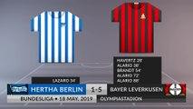 Match Review: Hertha Berlin vs Bayer Leverkusen on 18/05/2019
