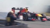 F1 - Les pilotes Red Bull en démonstration à Zandvoort