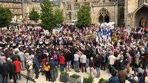Pardon de Saint-Yves à Tréguier : la procession du chef de Saint-Yves