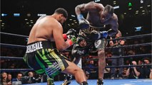 Deontay Wilder's Devastating Right Hand Gave Him A First-Round Knockout Against Dominic Breazeale