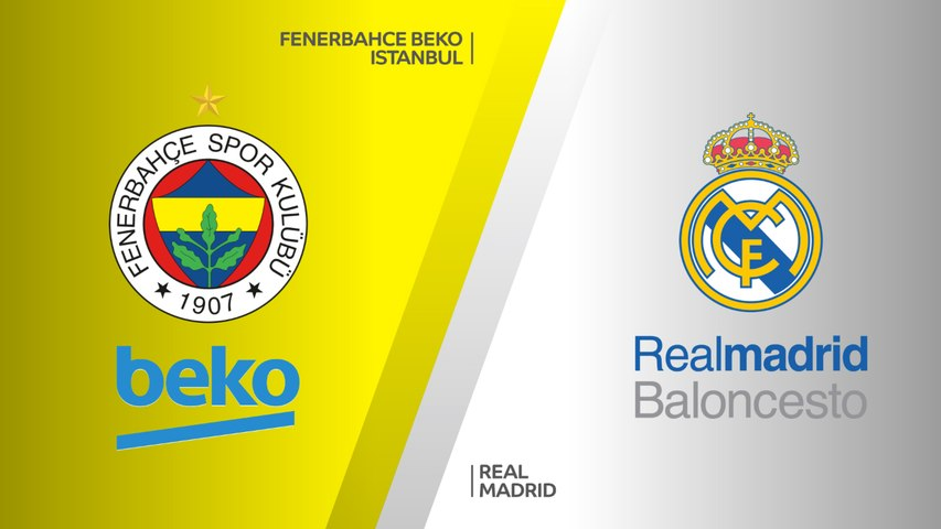 Fenerbahce Beko Istanbul - Real Madrid Highlights | Turkish Airlines EuroLeague Third Place Game