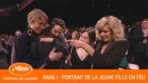 PORTRAIT DE LA JEUNE FILLE EN FEU - Rang I - Cannes 2019 - EV