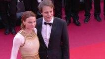L'équipe du film Une vie cachée de Terrence Malick est sur le tapis rouge - Cannes 2019
