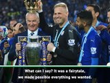 Not possible to repeat 'fairytale' Leicester title win - Ranieri