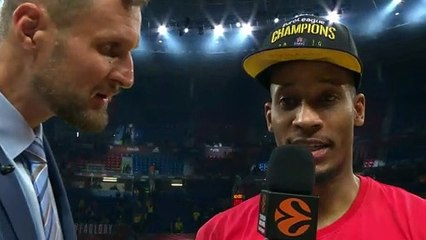 MVP Interview: Willl Clyburn, CSKA Moscow