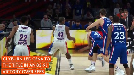 Final Four MVP: Will Clyburn, CSKA Moscow